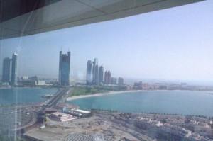 Un plano más lejano que nos permite ver cómo están ubicados los edificios al lado de la playa