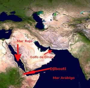 El Mar de Arabia.
