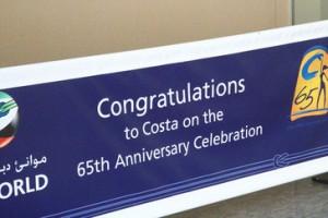 Felicidades a Costa en su sesagésimo aniversario