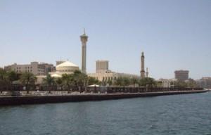 Otra vista de la mezquita del barrio Bur Dubái