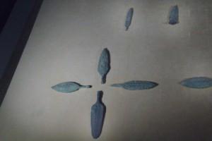 Puntas de flechas de bronce