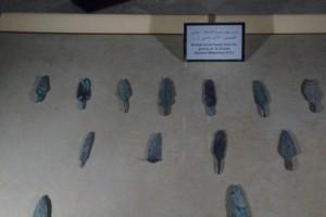 Punts de flechas y lanzas de bronce