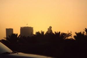 El edificio cuyo tejado termina en una bola de golf (Hotel Etisalat)