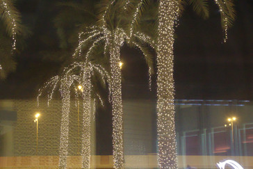 Decoraci n con luces led la vuelta al mundo y otros viajes for Iluminacion para palmeras