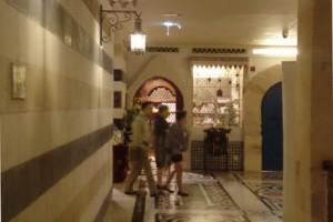 En el interior de Wafi