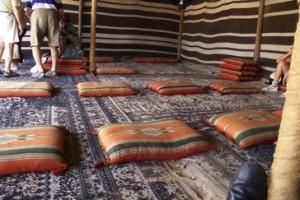 Interior de una tienda. (No del Museo de Dubái)
