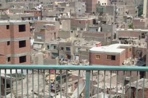 En el Cairo casi ninguna casa está terminada