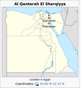 Al Qantarah, Egipto