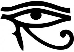 Ojode Ra, también conocido como ojo e Horus. Gentileza Wikimedia