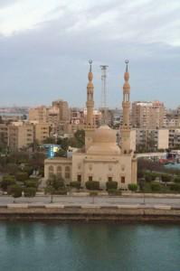 Mezquita Hamza, de la ciudad de Suez, Sinaí del sur.