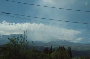 Humos del volcán