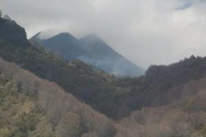Humos volcánicos