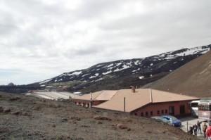 Tiendas y bares en ls cercanias del cráter Silvestri