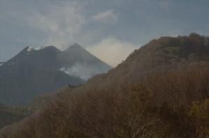 Etna, Fumarolas y alguna que otra nube