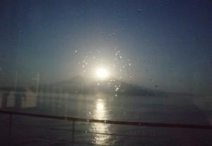 Volcán y Sol producen una explosión de luz