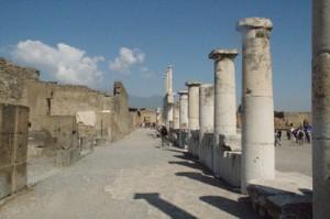 Foro y templo de Júpiter