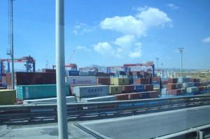 Y así llegamos al puerto