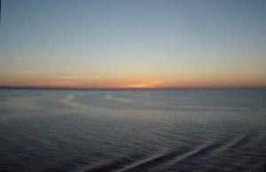 Mar Tirreno azul