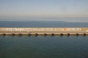 Bienvenidos al puerto de CibitaVecchia