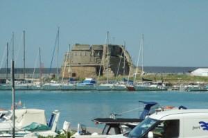Restos del viejo puerto
