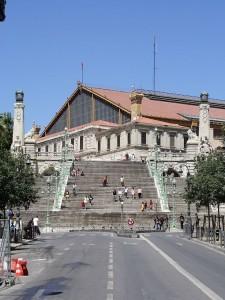 Estación de Saint Charles de Marsella. Gentileza de wikimedia