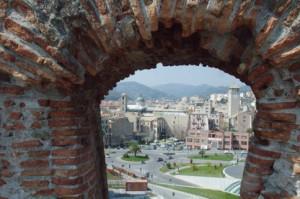 Savona vista desde la fortaleza Priamar