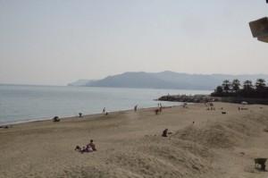 """Playa de Savona en la """"Riviera delle palme"""""""