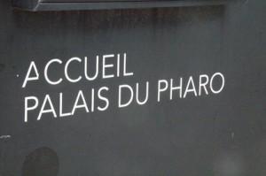 Recepción del Palacio del Faro