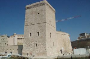 Parte del fuerte de Saint Jean