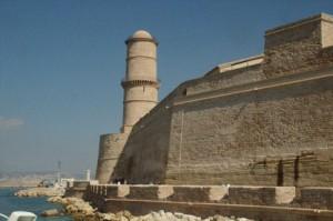 Otra vista del fuerte de Saint jean