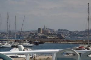 isla de If con Marsella al fondo