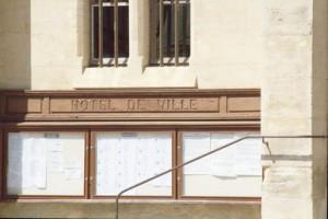 Letreo del ayuntamiento