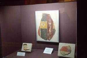 Restos de pinturas romanas