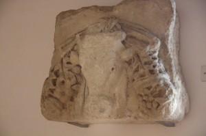 La cabeza del toro del culto a Cibeles