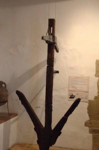 Ancla de plomo romana