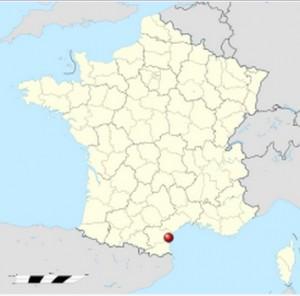 Ubicación de Narbona