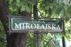 La calle Mikolajska