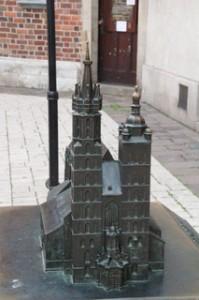 Maqueta basílica Santa María