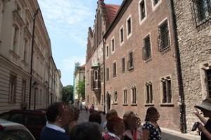 Edificios de la universidad. Estamos en la entrada