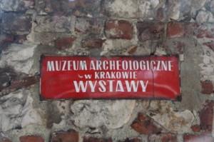 Pasamos por el Museo Arqueológico de Cracovia, aunque no entramos. ¡Falta de tiempo!