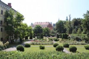 Un parque de los muchos que tiene la ciudad