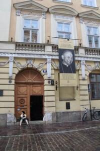 Juasn Pablo II vivió aquí desde 1951 a 1967
