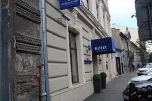 Nuestro hotel. De la cadena Golden Tulip.