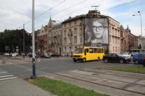 la moda de las impresiones digitales gigantes como publicidad, por desgracia, también ha llegaado a Polobnia