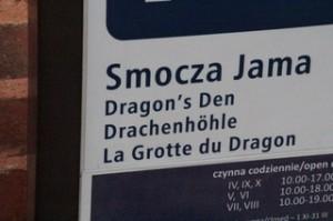 La entrada a la cueva del dragón
