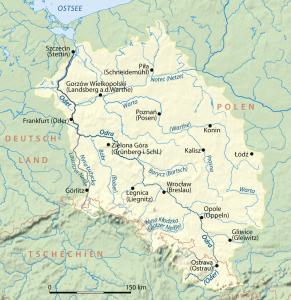 <río Óder y situacion de