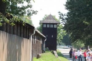 Garitas para vigilar que ningún prisionero se escapara