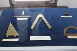 Instrumentos geométricos de la época