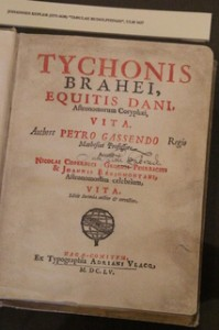 Una obra de Tycho Brahe