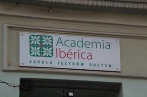 Una curiosidad, academia ibérica